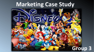 Marketing Case Study about Disney