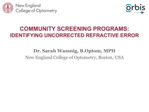 Community-Screening-Programs-Identifying-Undetected-Refractive-Error