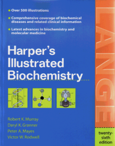 Harper - Illustrated Biochemistry  26th Ed, 2003