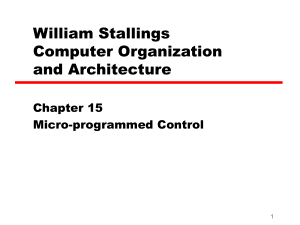 Microprogramming
