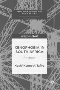 (African Histories and Modernities) Hashi Kenneth Tafira (auth.) - Xenophob