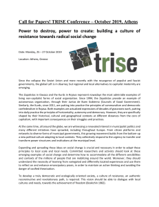 CFP-Power to destroy power to create building TRISE
