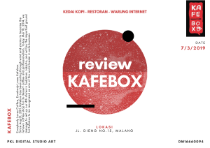 review kafebox