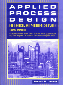 applied process design volume2 3e