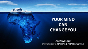 Your Mind Can Change You (Indonesian)
