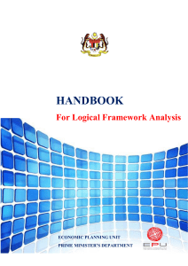 Handbook For Logical Framework Analysis-UPDATE2