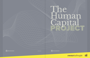 World Bank Human Capital Plan Project