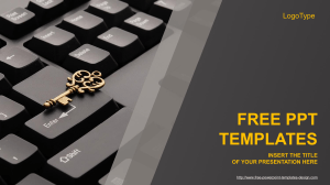 Computer-Golden-Key-PowerPoint-Template