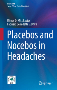 Placebos and nocebos in headache