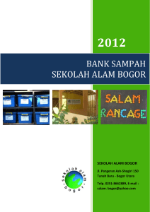 PROFIL BANK SAMPAH
