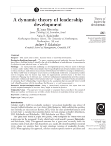 Dynamic Leadership (1)