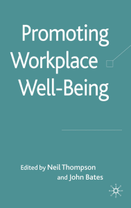 ebooksclub.org  Promoting Workplace Well being  A Critical Approach