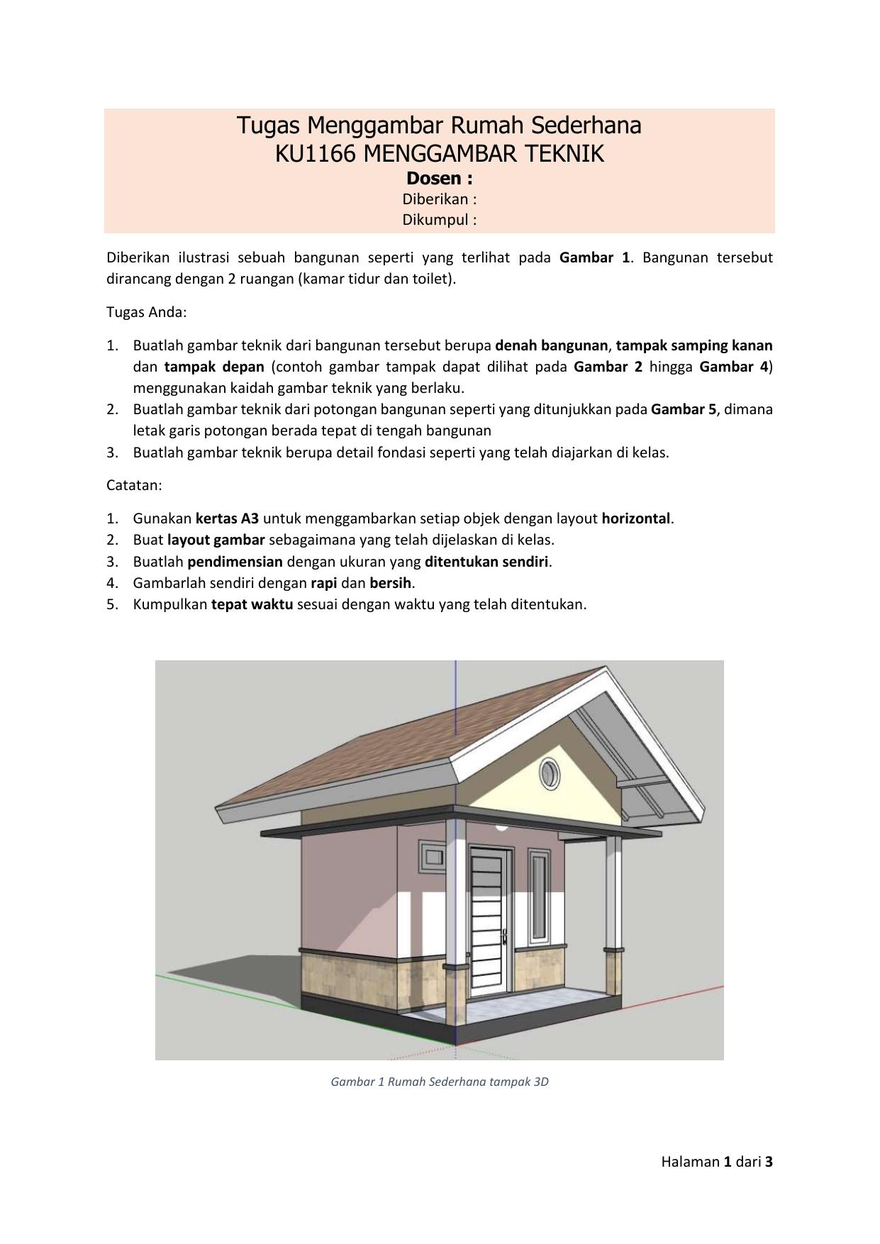 Top Five Menggambar Rumah