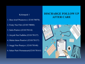 Discharge FollUp