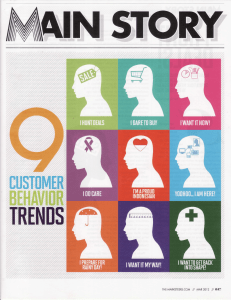 Handout 2 - 9 Customer Behavior Trend