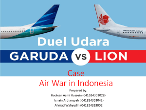 Air War in Indonesia