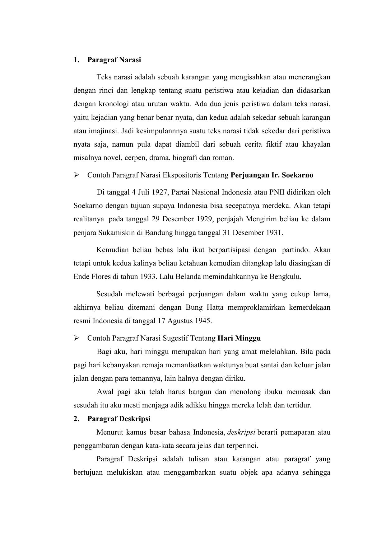 B Indo Paragraf