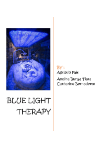 BUKU BLUE LIGHT THERAPY