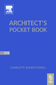 Architects Pocket Book