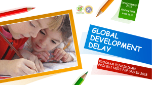 GLOBAL DEVELOPMENT DELAY