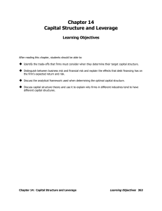 282966533-Capital-Structure-and-Leverage