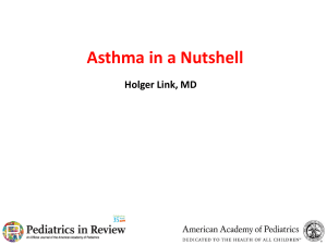 Asthma Review 2014 Power Point FINAL PDF