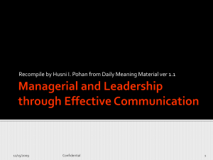 Managerial Training v1.1