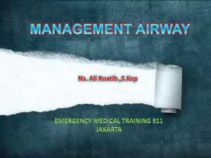 MANAGEMEN AIRWAY