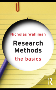 (The basics) Nicholas Walliman - Research Methods  The Basics  -Routledge (2011)