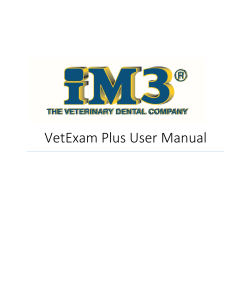 Vet Exam Manual
