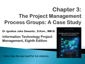 chapter-03 IT Project Management- Process