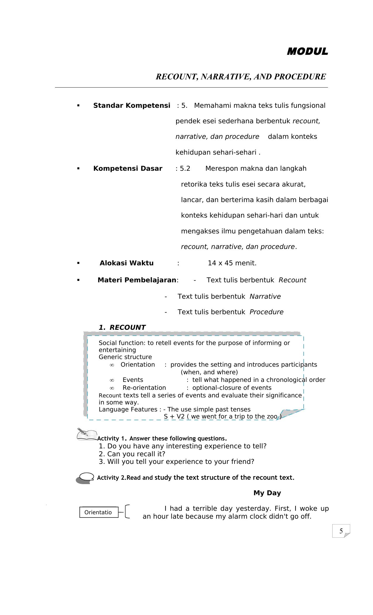 Kupdf Net Modul Bahasa Inggris Sma Kelas X