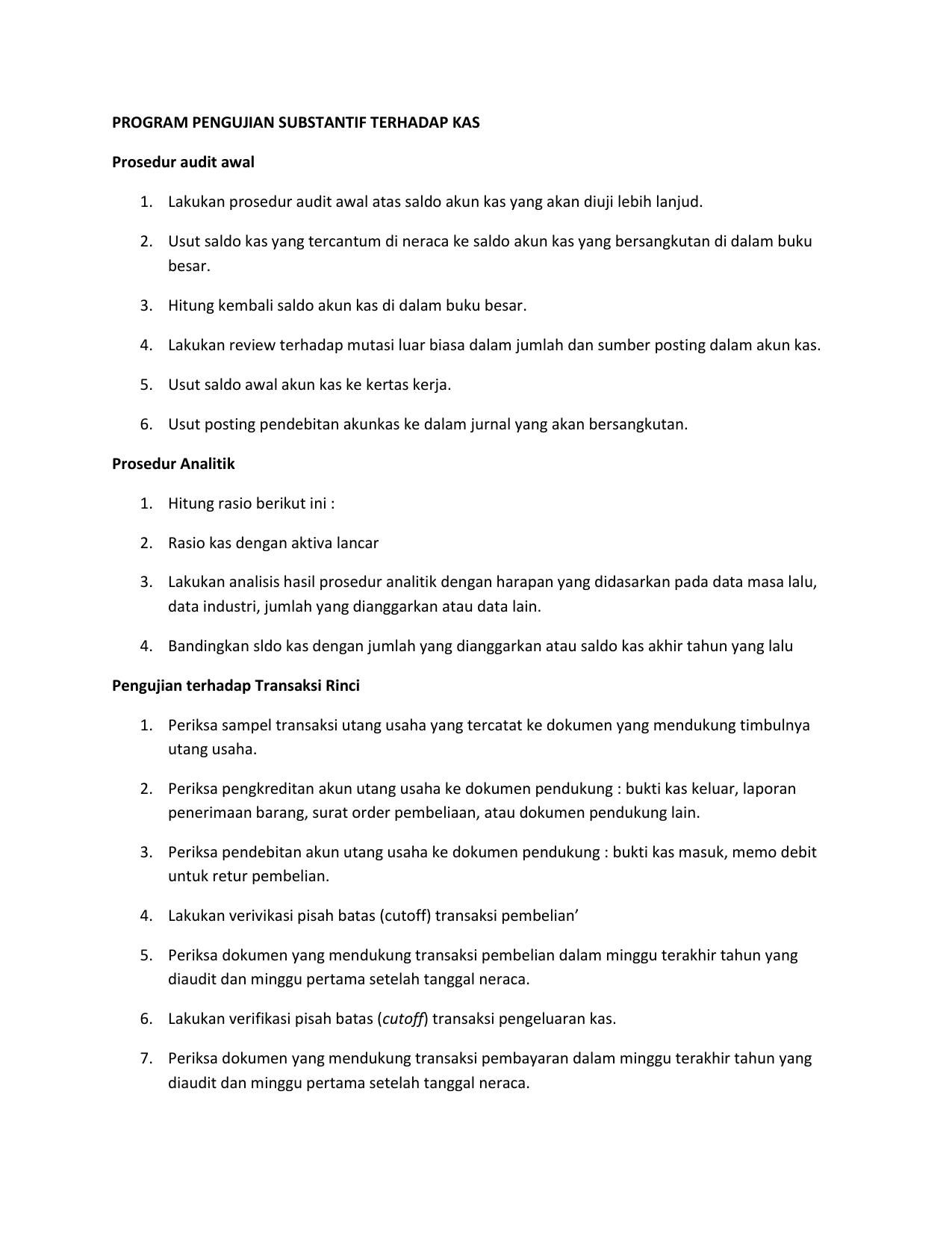 Tugas Program Audit