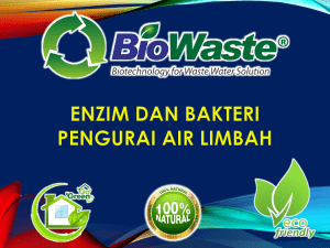 BIOWASTE - Wastewater Treatment V.001