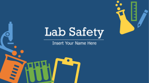 Lab Safety template