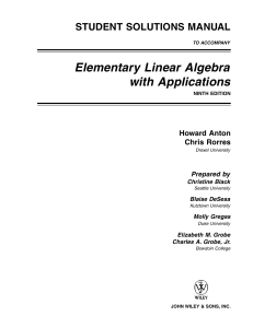 solutions manual linear algebra anton