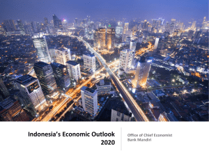 Indonesia Macroeconomic Outlook 2020