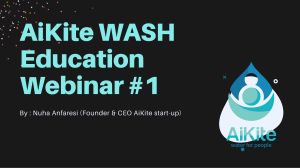 AiKite WASH Education Webinar