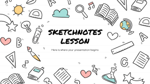Sketchnotes Lesson by Slidesgo