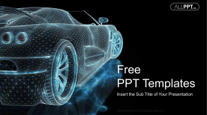 Eco Friendly Electric Car PowerPoint Templates