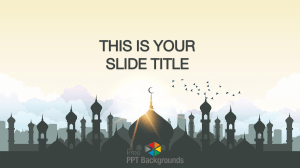 Mosque Islam PPT Slides