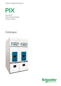 PIX up to 24 kV - Schneider Electric - Catalogue