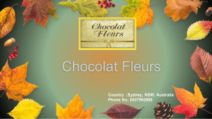 Birthday Gift Delivery Sydney by Chocolat Fleurs