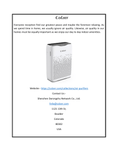 Air Purifier For Large Room USA  Colzer (1)