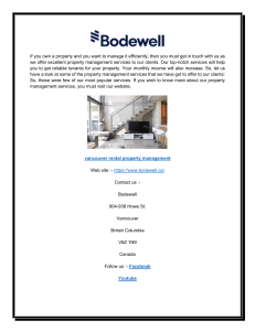 Vancouver Rental Property Management  Bodewell-converted