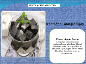 0812 3288 2925, Supplier Bubuk Cincau Hitam  Pontianak