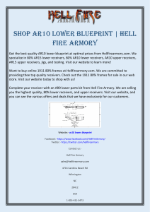 Shop AR10 Lower Blueprint  Hell Fire Armory