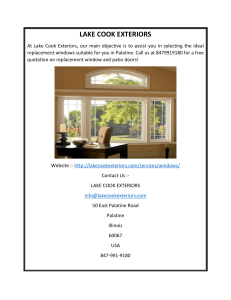 Replacement Windows in Palatine by Lake Cook Exteriors