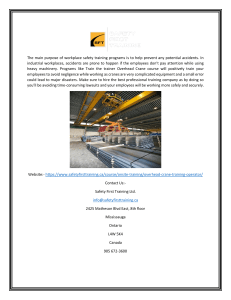 Get Overhead Crane Training Operator Certification (1)