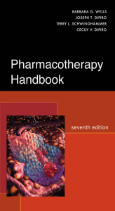 Handbook of Pharmacotheraphy ed.7 2009
